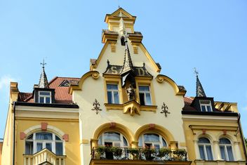 Facade of hotel in Karlovy Vary - Free image #348511