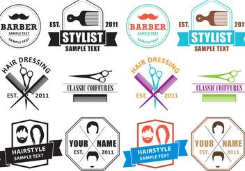 Coiffure Logos - Kostenloses vector #348701