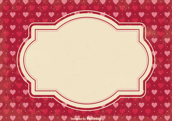 Valentine's Day Scrap Background - Free vector #349021