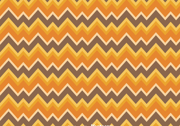 Orange And Brown Chevron Pattern - Free vector #349191