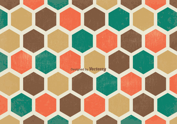 Retro Background Pattern - Free vector #349341