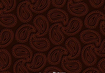 Paisley Brown Background - Free vector #349351