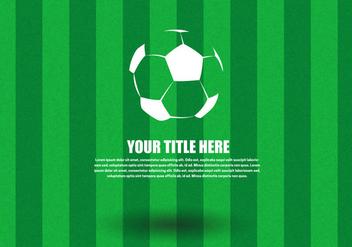 Free Soccer Ball Vector - бесплатный vector #349761