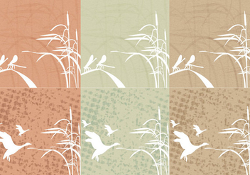 Reeds Background Grunge - Free vector #349791