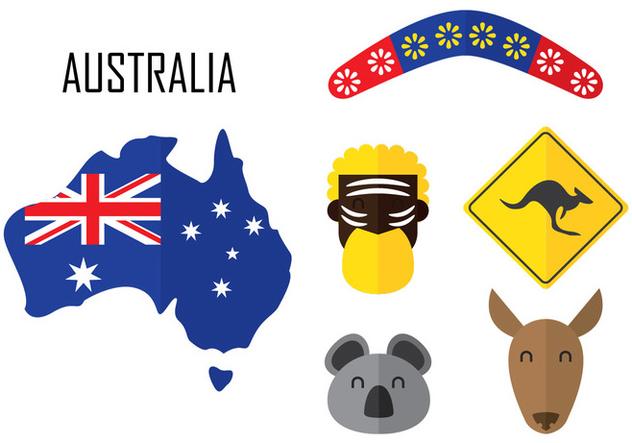 Australia Icon - vector gratuit(e) #349831