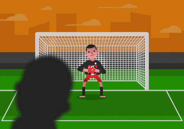 Vector Goalkeeper - Free vector #350061