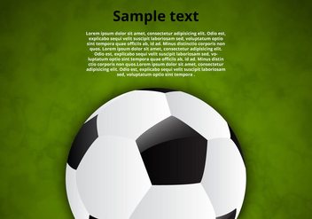 Free Soccer Ball Vector Background - Free vector #350141