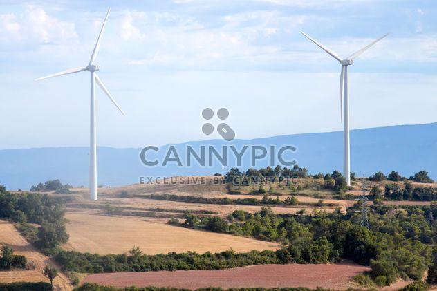 Wind turbine generators - Free image #350261