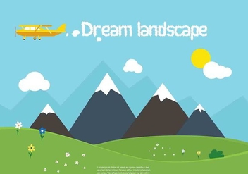 Free Vector Nature Landscape - Free vector #350431
