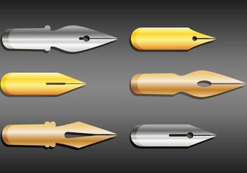 Pen Nib Vector - Kostenloses vector #352001