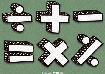Vector Math Symbols - Free vector #352101