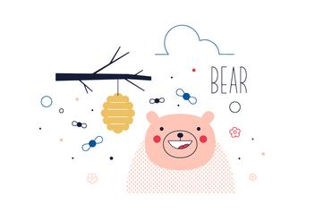 Free Bear Vector - vector #352491 gratis