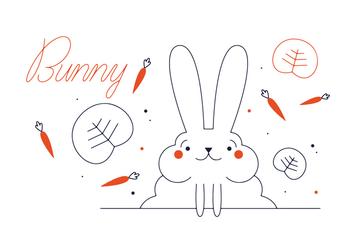 Free Bunny Vector - Kostenloses vector #352601