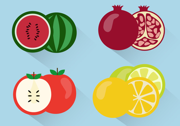 Free Fruit Vector - бесплатный vector #353171