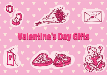 Free Valentine's Day Vector Icons - Free vector #353201