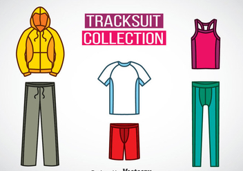Tracksuit Colors Icons Vector - Kostenloses vector #353371