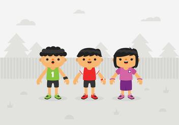 Vector Kids - Free vector #353791