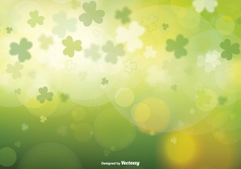 St Patrick's Day Blurred Vector Illustration - vector gratuit #353881