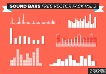 Sound Bars Free Vector Pack Vol. 2 - Free vector #354341