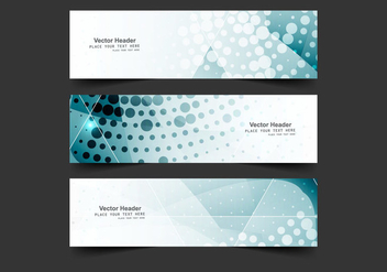 Vector Colorful Website Banners - vector gratuit #355061