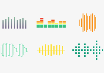 Free Sound Bars Vector #2 - Free vector #355201