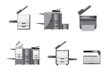 Modern Photocopier Vector - Kostenloses vector #355271