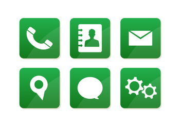 Vector Message Icons - Free vector #355671