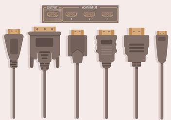 HDMI Vector - Free vector #356031