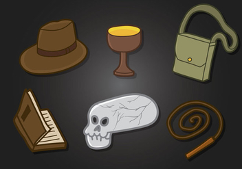Indiana Jones Vector - vector #356081 gratis