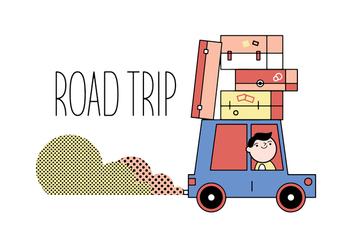 Free Road Trip Vector - Free vector #356171