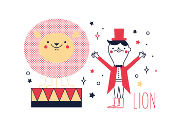 Free Lion Vector - Free vector #356221