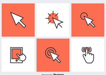 Free Mouse Click Vector Icons - Free vector #356351