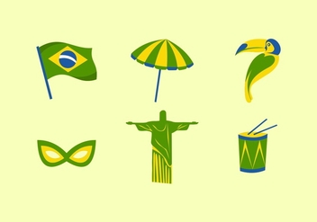FREE BRAZIL VECTOR - Free vector #356391