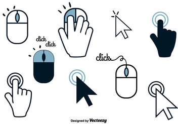 Free Mouse Click Vector - Free vector #356881