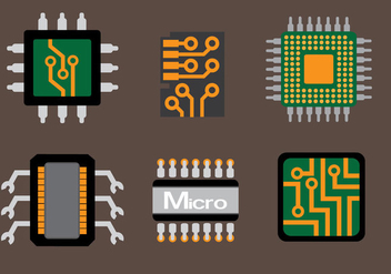 Microchip Technology Vector - Free vector #357471