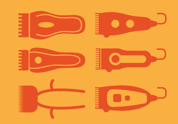 Hair Clippers Vector - vector #357591 gratis