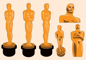 Oscar Statue Vector - Free vector #357741