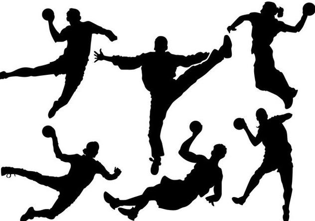 Free Handball Silhouette Vector - Free vector #358151