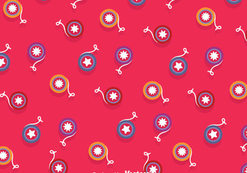 Yoyo Magenta Background - vector gratuit #358341