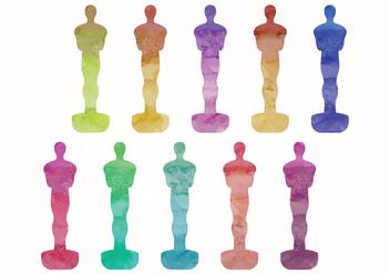 Vector Oscar Statues - vector #358471 gratis
