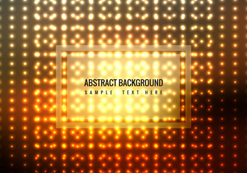 Free Glowing Dots Vector Background - Kostenloses vector #358881