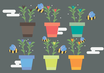Free Thyme Vector Illustration #1 - vector #359051 gratis