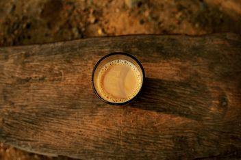 Masala tea on wooden background - Kostenloses image #359171