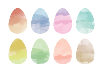 Vector Easter Eggs - Kostenloses vector #359251