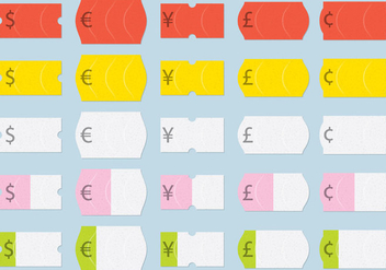 Pricing Product Stickers - Free vector #359321