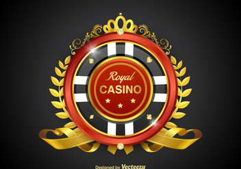 Free Casino Royale Vector Badge - Kostenloses vector #360691