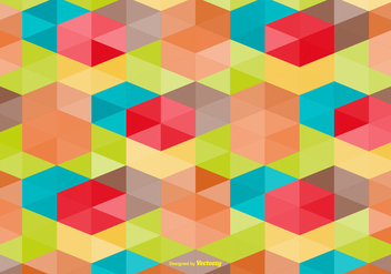 Multicolor Abstract Style Vector Background - бесплатный vector #362061