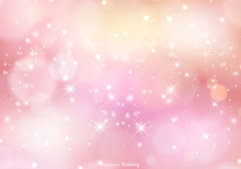 Pink Sparkle Background Illustration - Free vector #362081