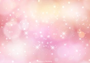 Pink Sparkle Background Illustration - бесплатный vector #362081