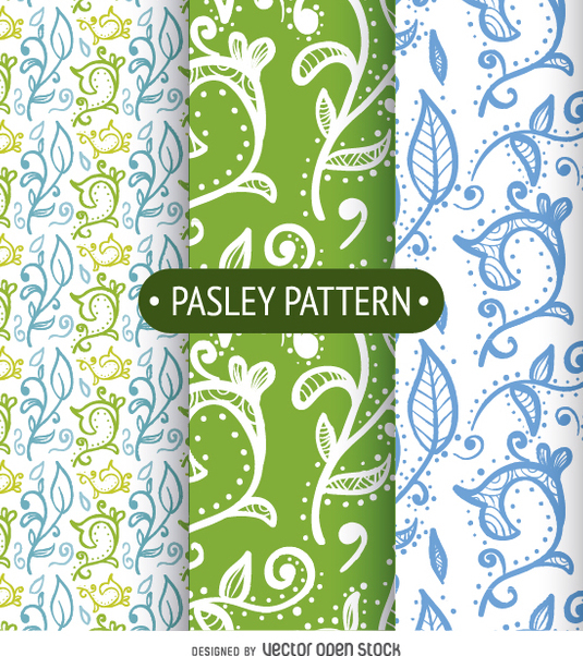 Pasley background set - vector gratuit(e) #362361